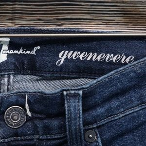 7 For All Mankind Jeans - 7 For All Mankind Gwenevere Skinny Jeans